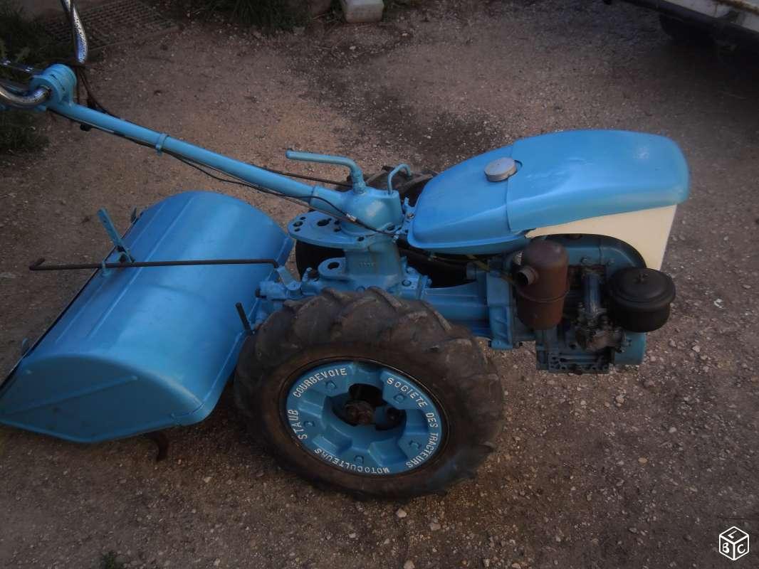 Motoculteur staub ppx s8