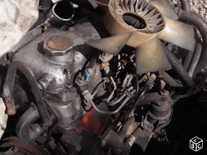 Moteur 2.5l diesel c 35 a revoir