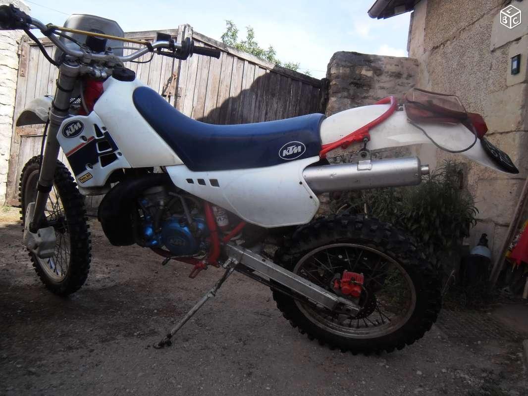 Ktm 240 gs enduro 1988