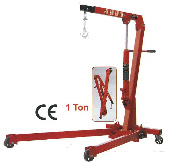 Grue d'atelier mobile pliante 1 tonne